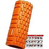 ACEFITS フォームローラー グリッドフォームローラー トリガーポイント&筋膜リリースモデル 説明書付き
