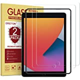 [2 Pack] OMOTON Screen Protector for iPad 7th Generation (10.2 Inch, iPad 7, 2019) / iPad Air 3 2019 / iPad Pro 10.5 - Temper