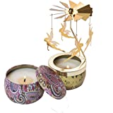 OKINDOLIFE Candle Sets for Women Gift Natural Soy Scented Candles Set Eco Friendly Long Lasting Aroma Candles with Jars for S