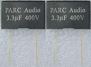 フィルムコンデンサー(3.3uF) 2個セット DCP-FC003-330-2