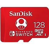 SanDisk 128GB microSDXC UHS-I Card for Nintendo Switch - SDSQXBO-128G-AWCZA