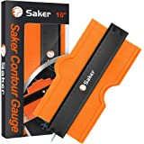 Saker Contour Gauge (10 Inch Lock) Profile Tool- Adjustable Lock-Precisely Copy Irregular Shape Duplicator -Irregular Welding