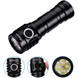 Sofirn IF25A Rechargeable 3800 high Lumens LED Flashlight, Anduril UI for Camping Hiking Fishing etc, 21700 Battery and USBC