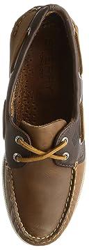 Authentic Original Sarape Boat Shoe: Tan / Brown