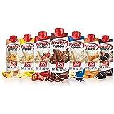 Premier Protein High Protein Shakes Variety Pack (Chocolate, Vanilla, Strawberry & Cream, Bananas & Cream, Caramel, Peaches &