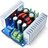 Aideepen DC-DC降圧コンバータモジュール降圧レギュレータ6V40V ~ 1.2V-36V 調整可能なコンバーター電源モジュール300W 20A CC CV降圧型調整電圧レギュレーター12V 24V 36V から 3.3V 5V 9V定電流
