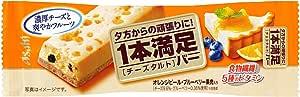 アサヒグループ食品 1本満足バー チーズタルト 1本×9本