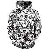 C_EDITION Hoodie Anime Cosplay Unisex Sweatshirt Pullovers 3D Print Tracksuit Jacket