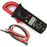 NUZAMAS Digital Clamp Meter | Auto-Ranging Multimeter | AC/DC Voltage&Current, Resistance, Diode Test, Non-Contact Voltage De