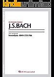 バッハ,インベンション/BWV772-786 3線譜,クロマチックノーテーション