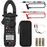 Meterk Digital Clamp Meter 6000 Counts True RMS NCV AC/DC Voltage Auto Range AC Current Clamp Multimeter Capacitance Resistan
