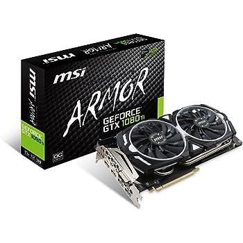 MSI GeForce GTX 1080 Ti ARMOR 11G OC グラフィックスボード VD6303