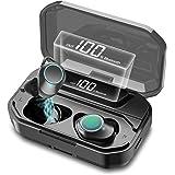 2021新開発版 新品大割引 5000mAh超大容量 Bluetooth イヤホン ワイヤレス イヤホン Bluetooth 5.1ブルートゥース イヤホン Hi-Fiステレオ AAC対応 150時間連続再生 IPX7防水 CVC8.0ノイズキャンセ