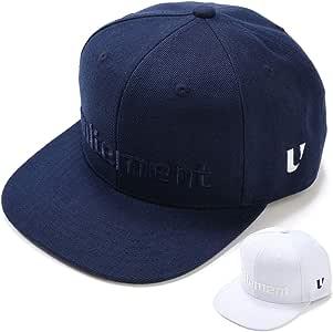 unitement(ユナイトメント) ゴルフ 6Pack Flatvisor Cap キャップ 帽子 メンズ レディース Navy/フリーサイズ