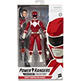 "Power Rangers - Lightning Collection - Mighty Morphin Red Ranger 6"" Collectible Action Figure - Kids Toys & Collectible Figur"