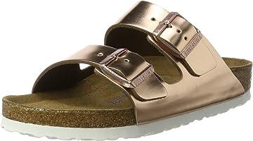 Birkenstock Womens Arizona - Metallic Copper 952091 (Leather) Womens Sandals 36 EU