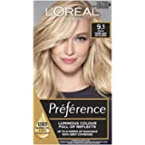 L'Oréal Paris Préférence Permanent Hair Colour - 9.1 Viking (Intense, Fade-Defying Colour)
