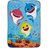 Baby Shark Musical Plush Blanket, Multicolor