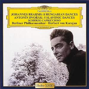 Brahms: Hungarian Dances; DvorŸk: Slavonic Dances / Herbert von Karajan