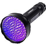 UV Blacklight Flashlight,100 LED UV Flashlights, Super Bright Ultraviolet Flashlight Professional Black Light Pet Urine Detec