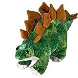 "Wild Republic Dinosauria Mini Stegosaurus 10"" Plush"