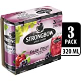 Strongbow Apple Cider Dark Fruit Can, 320ml (Pack of 3)