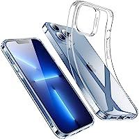 ESR iPhone 13 Pro ケース クリアケース 高い透明度 耐衝撃 薄型 シリコンケース 黄変しにくい スリム…
