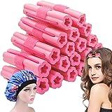 Hair Rollers Night Sleep Foam Hair Curler Rollers Flexible Soft Pillow Hair Rollers DIY Sponge Hair Styling Rollers Tools 20