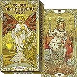 タロットカード 78枚 タロット占い 【ゴールデン アールヌーボー タロット Golden Art Nouveau Ta…