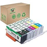 Supricolor PGI-280XXL CLI-281XXL Ink Cartridges, Replacement Ink for PGI 280 XXL CLI 281 XXL 6 Color (1PGBK 1Black 1Cyan 1Mag