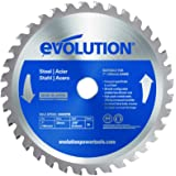 Evolution Power Tools 180BLADEST Steel Cutting Saw Blade, 7-Inch x 36-Tooth