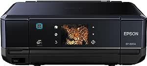 旧モデル エプソン インクジェット複合機 Colorio EP-805A 有線・無線LAN標準対応 先読みガイド&カンタンLEDナビ搭載 6色染料インク スマートフォンプリント対応 ブラック