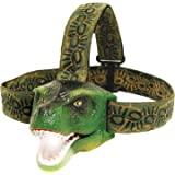 The Original DinoBryte LED Headlamp - T-Rex Dinosaur Headlamp for Kids | Dinosaur Toy Head Lamp for Boys, Girls, or Adults |