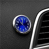 BAAQII Luminous Car Dashboard Ornament Clock Auto Air Vent Stick-On Digital Electronic Clock Car Interior Decoration Quartz W