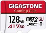Gigastone 微型SD卡 128GB Micro SD Card Nintendo Switch 已確認操作 SD 帶適配器 adaptor MicroSDXC A1 U3 V30 C10 95MB/S 高速 microsd卡 UHS-I Full HD & 4K UHD視頻 國內正品