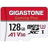Gigastone マイクロSDカード 128GB Micro SD Card Nintendo Switch 動作確認済 SD アダプタ付 adaptor MicroSDXC A1 U3 V30 C10 95MB/S 高速 microsdカード U