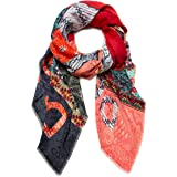 Desigual Women's Rectangle Foulard, One Size