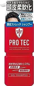 PRO TEC(プロテク) 頭皮ストレッチ シャンプー 本体ポンプ 300g(医薬部外品)