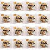 おにしの米粉パン 1食47g×16袋セット 防災アプリQRコード付き 賞味期限2021年6月8日迄