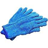 お掃除 手袋 マイクロファイバー