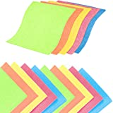 QAQGEAR Kitchen Sponge Cloth Swedish Dishcloths Reusable Soft Absorbent Quick Drying Cleaning Cloths for Dish/Wipe Off Dirts(