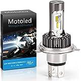Camelight ファンレス H4 バイク用LEDヘッドライト HS1 Hi/Lo 25W キット ハロゲンランプと完璧に切り替え 非破壊インストール 6000K白い光(1個)