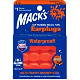 Mack's Kids PillowSoft Earplugs 6 Pair Pack - Orange