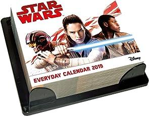 Star Wars Desk Block 2019 Calendar - Page a Day Desk Block Format