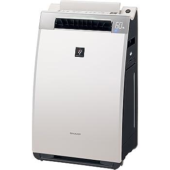 シャープ 加湿空気清浄機 プラズマクラスター25000搭載 プレミアムモデル ホワイト KI-EX75-W