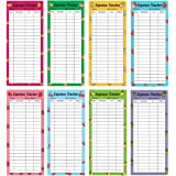 80 Budget Sheets 8 Design Expense Tracker Budget Tracker - Fit Budget Envelopes Cash Envelope Budget Binder Budget Wallet