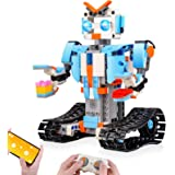 Sillbird STEM Building Blocks Robot for Kids- Remote Control Engineering Science Educational Building Toys Kits for 8,9-14 Ye