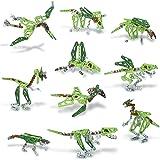 Meccano, 10 Model Set, Dinosaurs