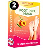 Foot Peel Mask to Exfoliate Dead Skin - 2 Pairs of Baby Foot Peeling Mask for Callus Removal, Dead Skin and Cracked Heel Trea