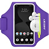 [Upgraded Version] Running Armband for iPhone 11/11 Pro/XR/XS/8/7, Samsung S10/S9/S8, Sport Running Gym Cell Phone Holder Cas